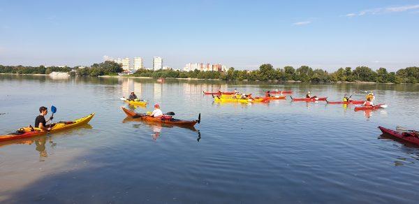 2021.07.31: Az egész Dunakanyar tengeri kajakkal:Esztergom-Dunabogdány Nagytúra