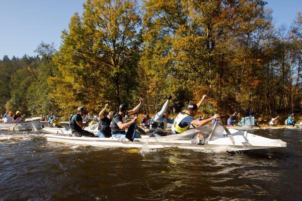 2021.10.07-10: Krumlovsky Maraton – Őszi Kalandozás a Moldva folyón